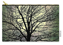 Winter Moon Silhouette Carry-all Pouch