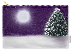 Winter Moon Carry-all Pouch