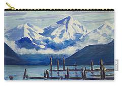 Winter Mountains Alaska Carry-all Pouch