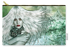 Carry-all Pouch featuring the digital art Winter by Nola Lee Kelsey