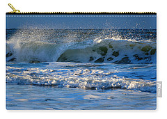 Winter Ocean At Nauset Light Beach Carry-all Pouch by Dianne Cowen