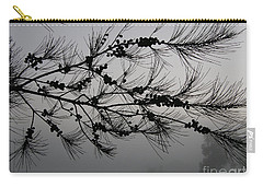 Winter Pine Branch Carry-all Pouch