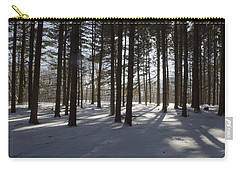 Winter Pines Carry-all Pouch by Daniel Sheldon