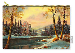 Winter Splendor Carry-all Pouch