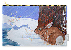 Winter Storm Approaching Carry-all Pouch