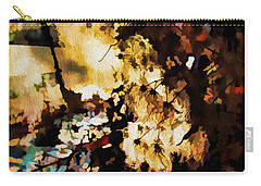 Carry-all Pouch featuring the photograph Winter Sun by Kathy Bassett