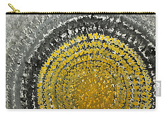 Winter Sun Original Painting Carry-all Pouch
