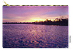 Carry-all Pouch featuring the photograph Winter Sunrise by John Telfer