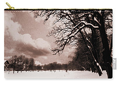 Winter Tale Carry-all Pouch by Nina Ficur Feenan