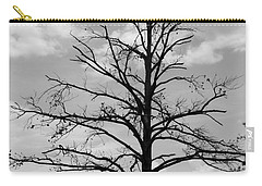 Carry-all Pouch featuring the photograph Winter Tree by Andrea Anderegg