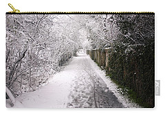 Winter Walk Carry-all Pouch