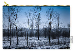 Carry-all Pouch featuring the photograph Winter Wonderland by Bianca Nadeau