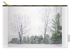 Winter Wonderland Usa Carry-all Pouch