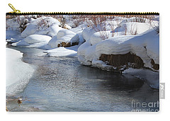 Winter's Blanket Carry-all Pouch by Fiona Kennard