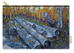 Winter's Firewood Carry-all Pouch