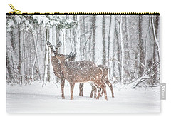 Winters Love Carry-all Pouch by Karol Livote