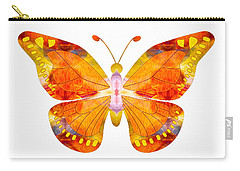 Wisdom And Flight Abstract Butterfly Art By Omaste Witkowski Carry-all Pouch