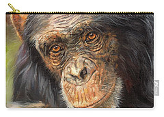 Wise Eyes Carry-all Pouch by David Stribbling