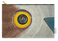 Wise Owl Original Painting Carry-all Pouch