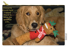 Wish For A Christmas Friend Carry-all Pouch