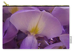 Wisteria Parasol Carry-all Pouch by Claudia Goodell