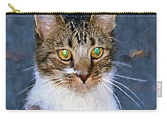 With Eyes On Carry-all Pouch