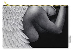 Carry-all Pouch featuring the painting Withdrawal by Pat Erickson
