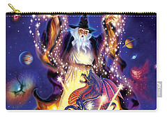 Wizard Dragon Spell Carry-all Pouch by Andrew Farley