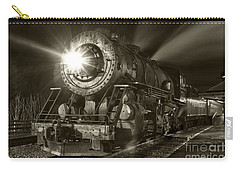 Wmsr Engine 734 At The Frostburg Depot Carry-all Pouch by Jeannette Hunt
