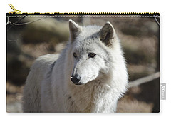 Timber Grey Wolf Carry-all Pouch