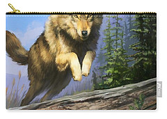Wolf Run Carry-all Pouch