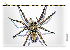 Wolf Spider Carry-all Pouch by Katherine Miller