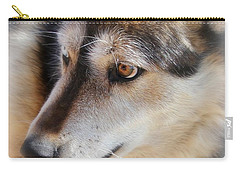 Wolf Spirit Carry-all Pouch by Diane Alexander