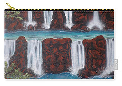 Wolf Spirit Falls Carry-all Pouch