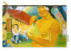 Woman Holding Fruit Carry-all Pouch