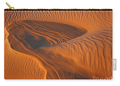Woman In The Dunes Carry-all Pouch