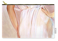 Woman In White Carry-all Pouch