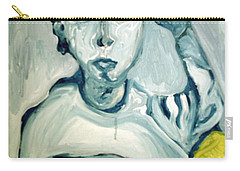 Woman Smoking Carry-all Pouch