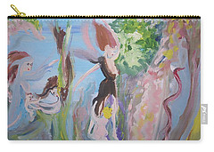 Woman The Nurturer Carry-all Pouch by Judith Desrosiers