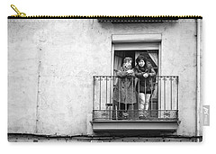 Women In Balcony Carry-all Pouch