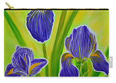 Wonderful Iris Flowers 3 Carry-all Pouch