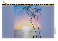 Wonderful Sunrise In Paradise Carry-all Pouch