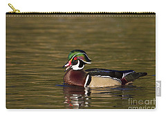 Wood Duck Calling Carry-all Pouch by Bryan Keil