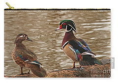 Wood Duck Photo Carry-all Pouch by Luana K Perez