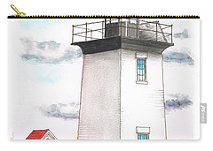 Wood End Lighthouse - Massachusetts Carry-all Pouch by Carlos G Groppa