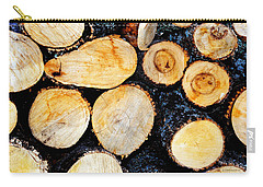 Wood Pile Carry-all Pouch
