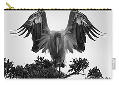 Wood Stork Spread Carry-all Pouch