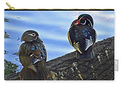 Carry-all Pouch featuring the photograph Wood You Love Me Forever by Robert Meanor