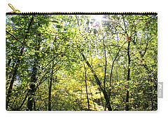 Wooded Sunshine Carry-all Pouch