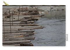 Wooden Bridge  Carry-all Pouch by Ramabhadran Thirupattur